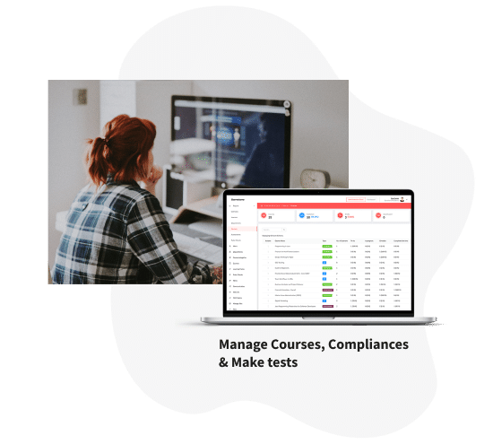 Samelane LMS, Manage Courses, Competitions
