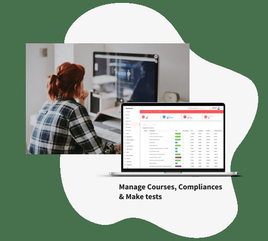 Samelane LMS, System zarządzania wiedzą