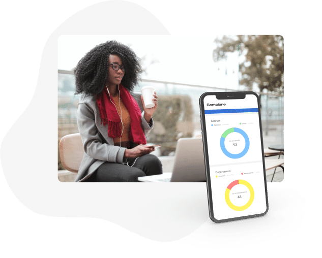 Automated learning reporting LMS Samelane