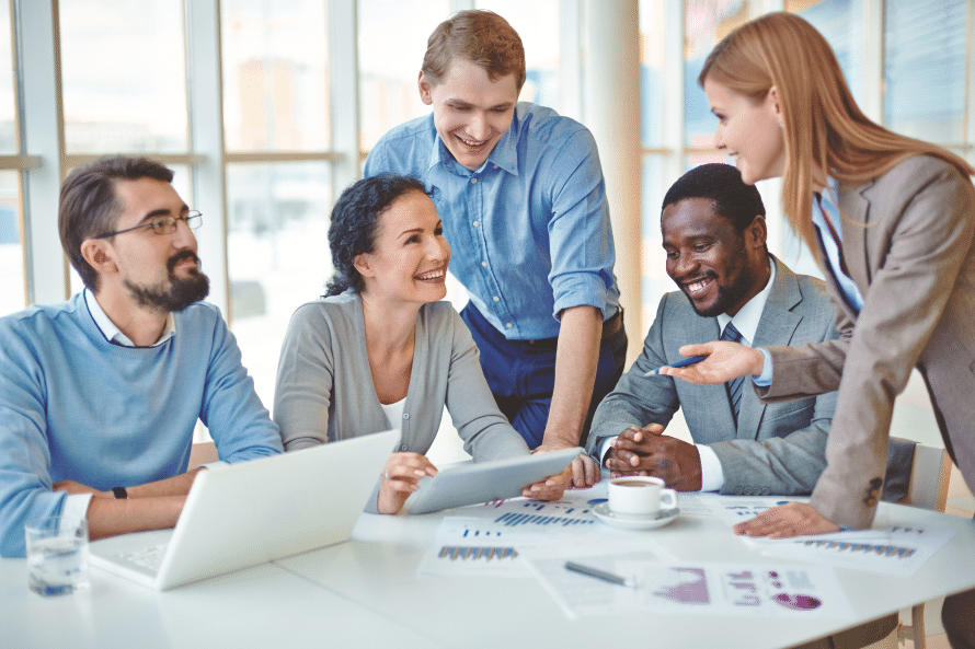 Streamline training in financial services LMS