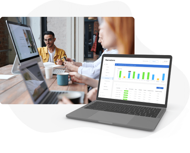 training evaluation reporting learning LMS Samelane